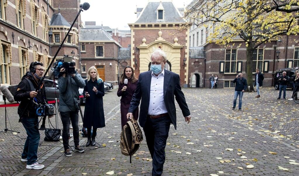 <p>Jaap van Dissel, directeur Infectieziekten bij het RIVM.</p>  (beeld anp / Sem van der Wal)