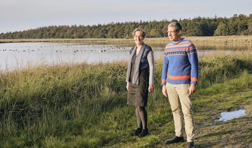 <p>Het huisartsenechtpaar Bert en Christine Grootenhuis.</p>  (beeld Sjaak Verboom)