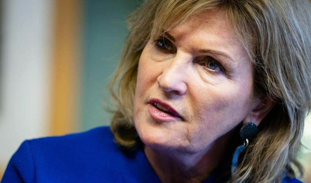 <p>D66-Kamerlid Pia Dijkstra.</p>  (beeld anp / Bart Maat)