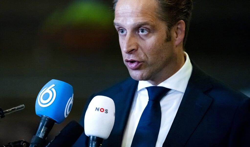 <p>Minister Hugo de Jonge (Volksgezondheid) komt met een regeling voor levensbe&euml;indiging bij kinderen tussen 1 en 12 jaar, die uitzichtloos en ondraaglijk lijden.</p>  (beeld anp / Remko de Waal)