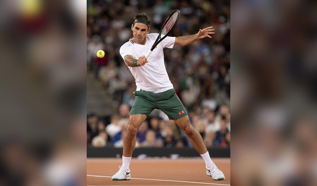 Roger Federer beoefende als kind lange tijd andere sporten dan tennis.  (beeld epa / Nic Bothma)