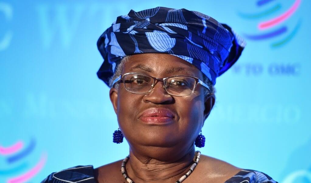 <p>Ngozi Okonjo-Iweala</p>  (beeld afp)
