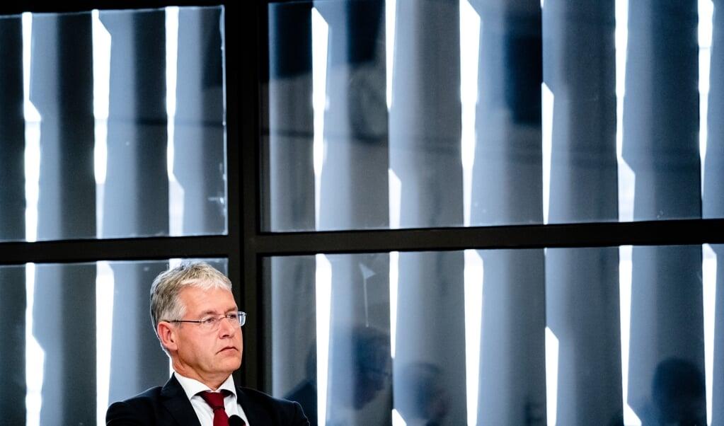 <p>Minister Arie Slob voor Basis- en Voortgezet Onderwijs en Media (ChristenUnie)</p>  (beeld anp / Bart Maat)