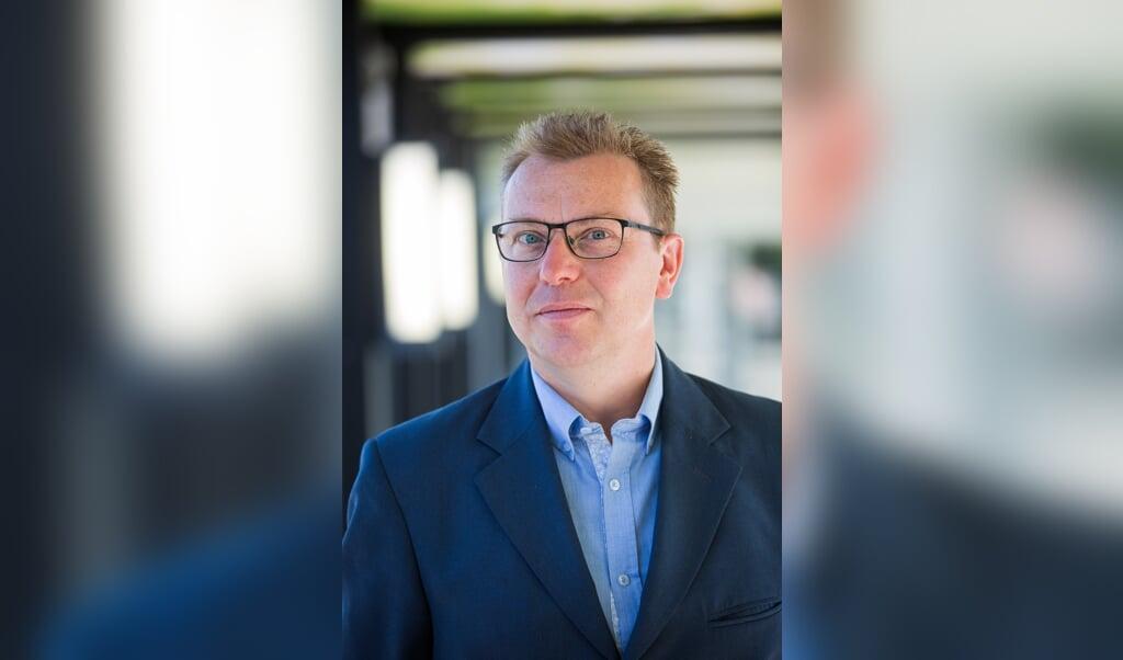<p>Carl Sterkens, decaan van de Nijmeegse Bijzondere Faculteit der Theologie.</p>  (beeld  Ted van Aanholt)