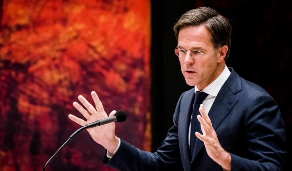 <p>De minister-president erkende woensdag dat hij te veel nadruk heeft gelegd op de eigen verantwoordelijkheid van Nederlanders.</p>  (beeld anp / Bart Maat)
