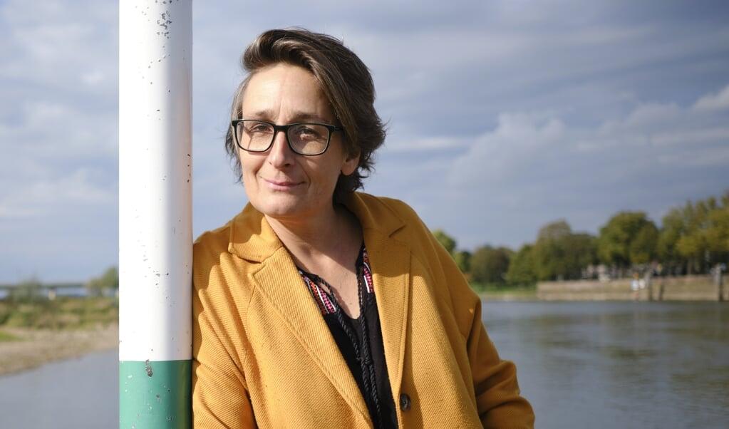 <p>Anne Christine Girardot, producent en regisseur.</p>  (beeld Dick Vos)