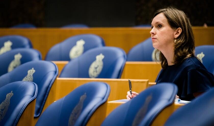 <p>Stieneke van der Graaf (ChristenUnie) stemde per ongeluk voor de motie, laat ze weten.</p>  (beeld anp / Bart Maat)