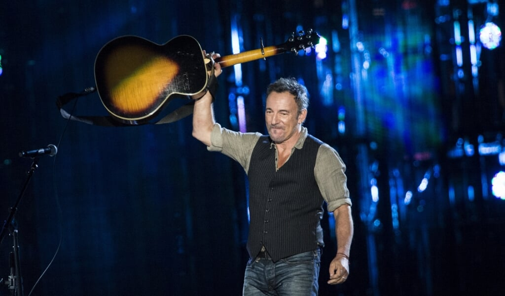 <p>Bruce Springsteen in 2014.</p>  (afp)