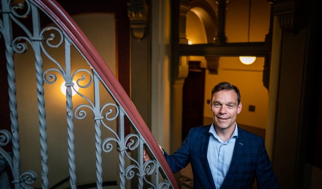 CDA'er Martijn van Helvert staat van al zijn fractiegenoten het laagst op de kieslijst van zijn partij. 'Een plek op de lijst is geen beloning voor wat je hebt gedaan.'   (beeld anp / Bart Maat)