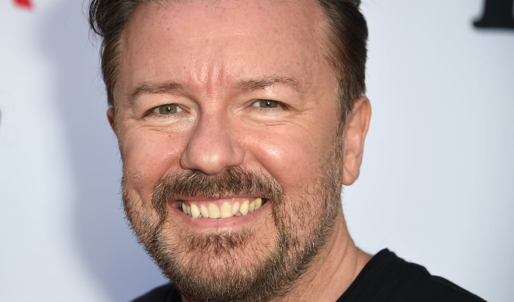<p>Ricky Gervais</p>  (beeld afp / Robyn Beck)
