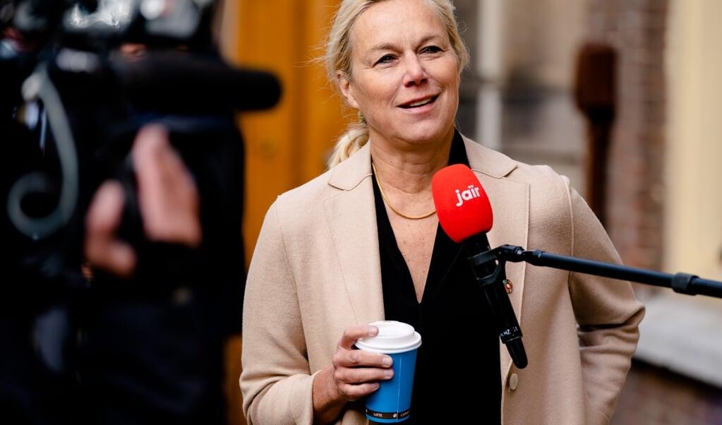 <p>Minister Sigrid Kaag voor Buitenlandse Handel en Ontwikkelingssamenwerking (D66)</p>  (beeld anp / Bart Maat)