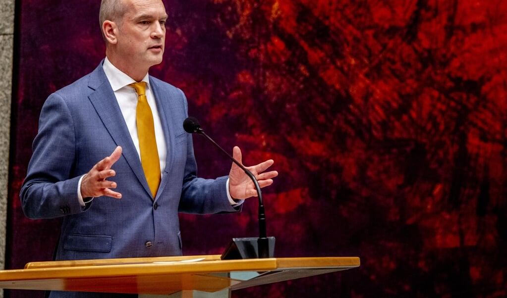CU-leider Gert-Jan Segers  (beeld anp / Robin Utrecht)