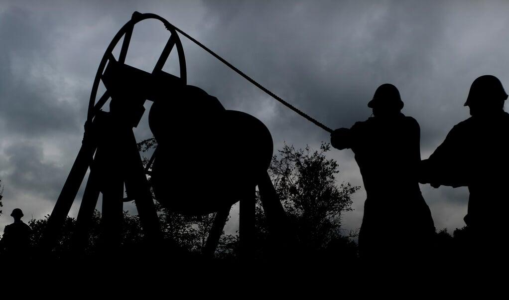 De Bourdonklok op de Waalsdorpervlakte, een herdenkingsplaats waar in de Tweede Wereldoorlog onder meer verzetsstrijders ter dood werden gebracht. ANP KOEN VAN WEEL  (beeld anp / Koen van Weel)