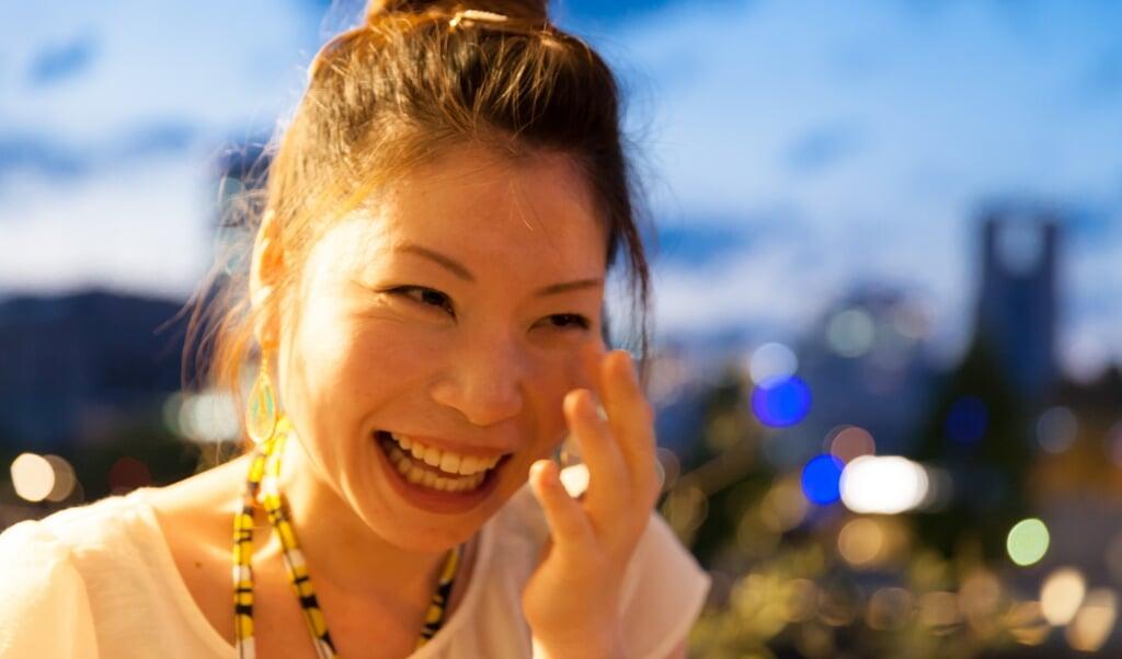 Je buldert zo hard van de lach, dat de tranen niet te bedwingen zijn.   (beeld Getty Images)
