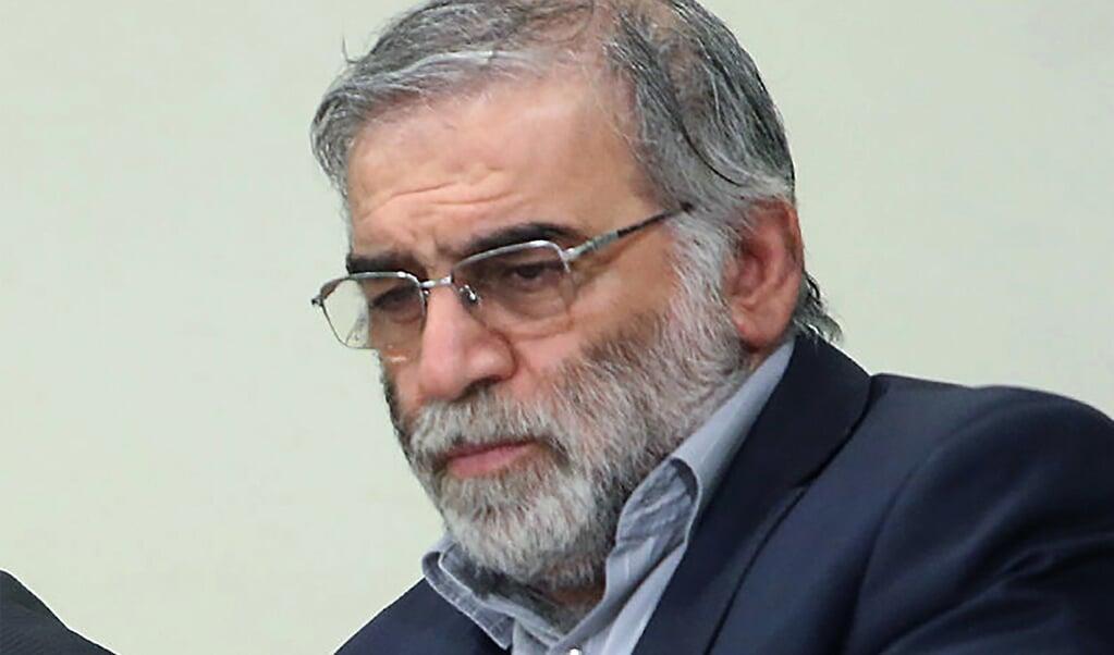 Mohsen Fakhrizadeh  (beeld khamenei.ir / afp)