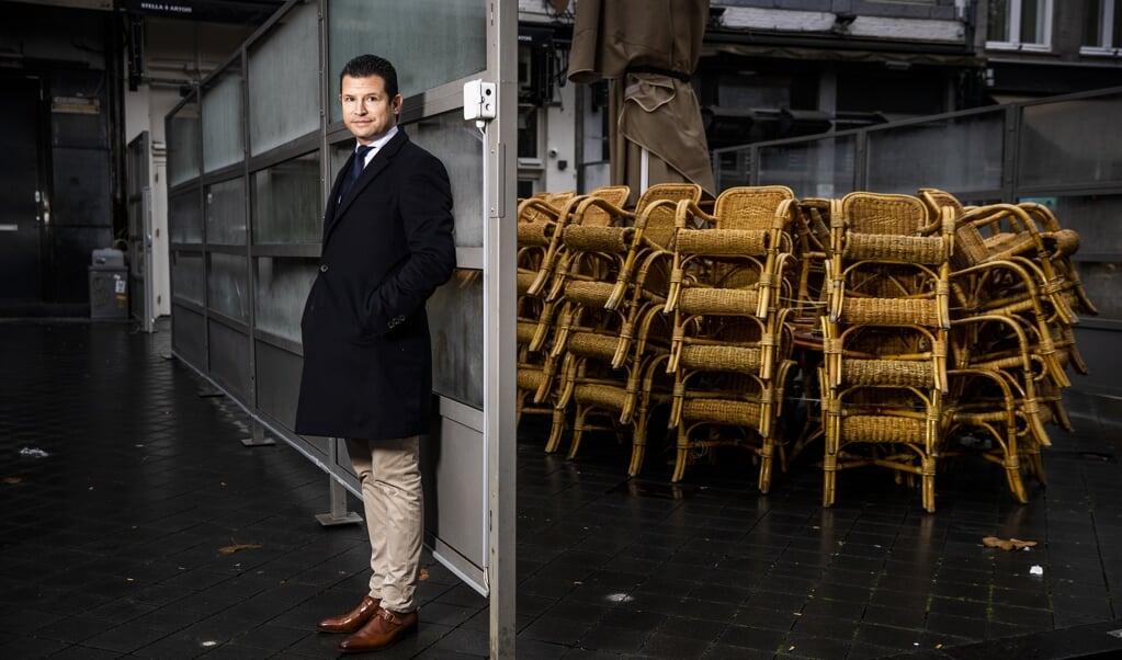 Dirk Beljaarts, algemeen directeur van Koninklijke Horeca Nederland.  (beeld Jiri Buller)