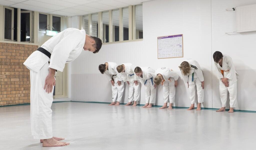 De sportschool van Wim van Doorn in Rhenen.  (beeld Niek Stam)