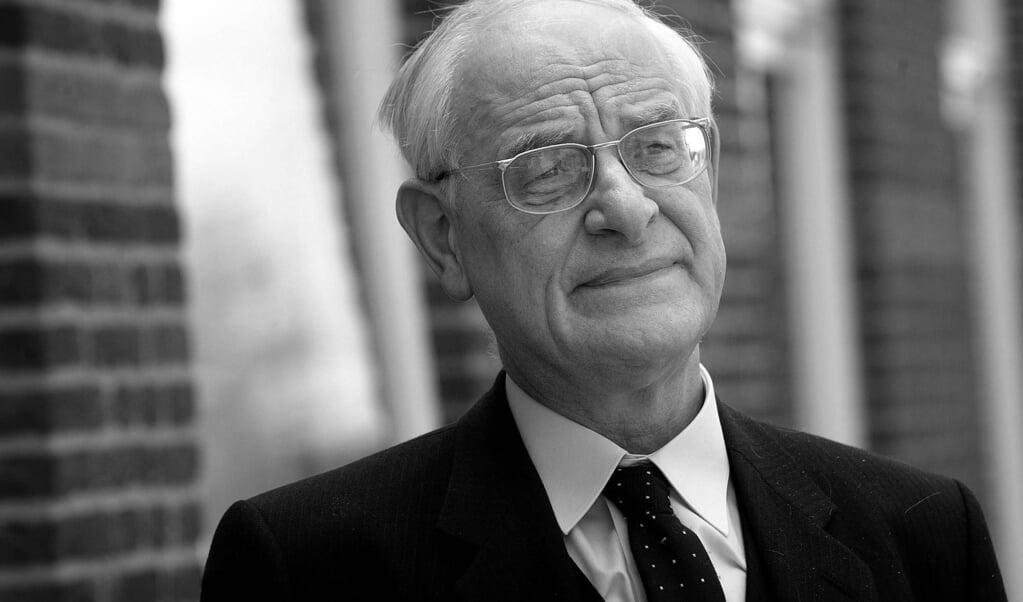 L.M.P. Scholten bleef lang op de bres staan voor de waarheid, maar uitte zich gaandeweg milder.  (rd / Sjaak Verboom)