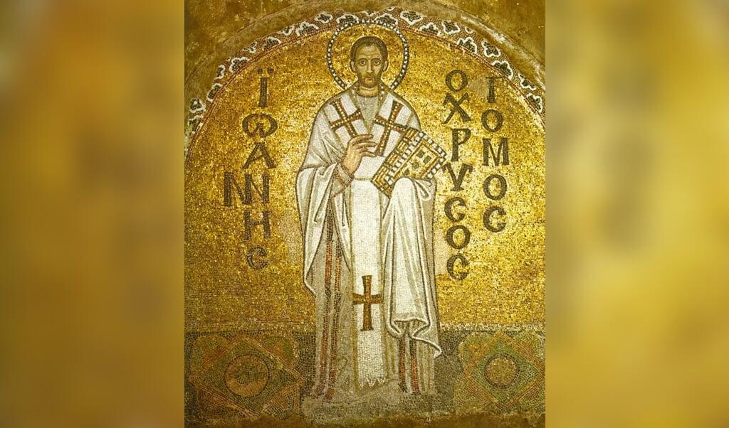 Johannes Chrysostomus  (beeld Wikipedia Commons)