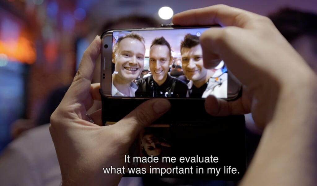 Fragment uit de documentaire I will speak, I will speak.  (beeld NTR)