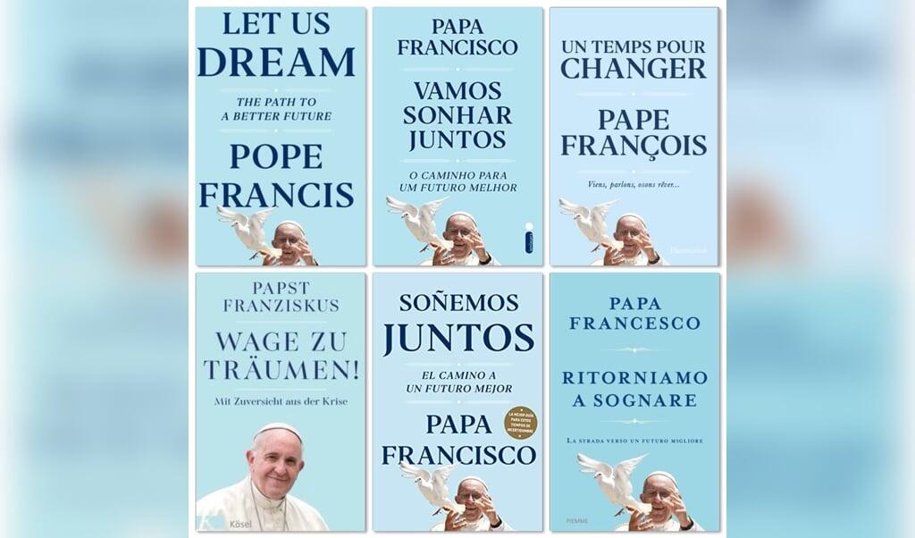 Het nieuwe interviewboek van paus Franciscus verschijnt deze week in zes talen.  (beeld ND)