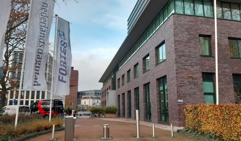 Het kantoorpand van het Nederlands Dagblad in Amersfoort.  (beeld Hans-Lukas Zuurman)