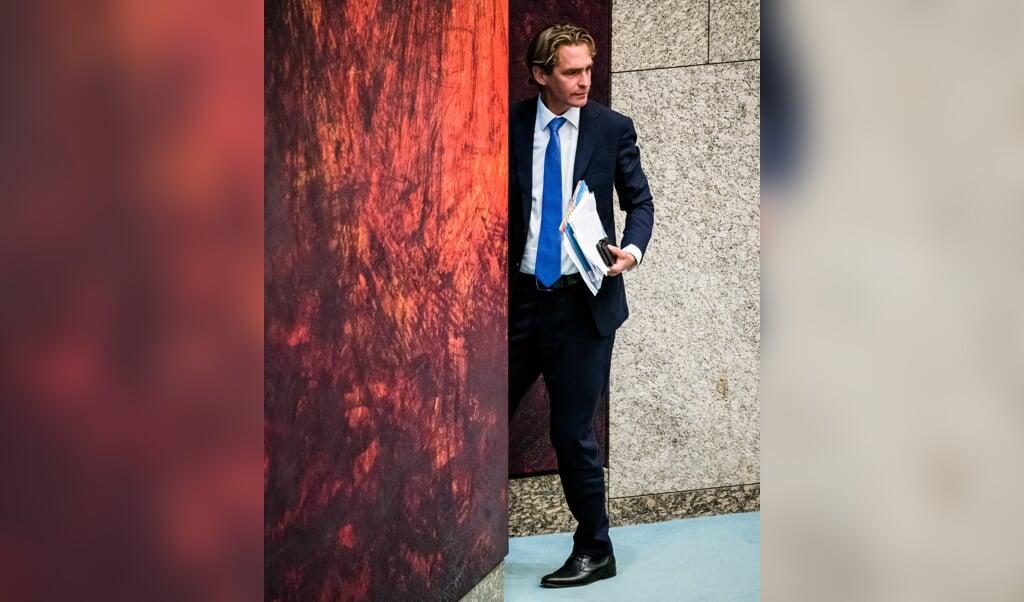Staatssecretaris Bas van 't Wout (Sociale Zaken) heeft dinsdag aangekondigd dat de wet die dat regelt op 1 januari in werking treedt.   (beeld anp / Bart Maat)
