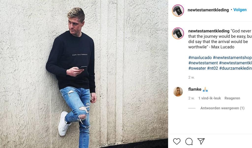 beeld instagram / @newtestamentkleding