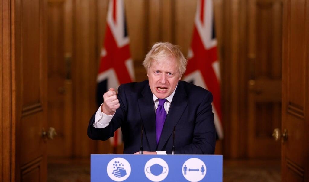 Premier Boris Johnson  (beeld afp / John Sibley)
