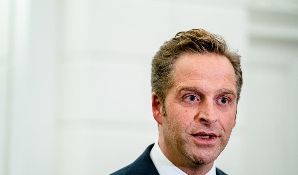 Minister Hugo de Jonge  (beeld anp / Bart Maat)