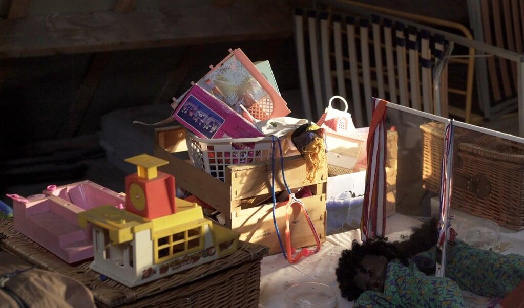 Spullen vormen vaak herinneringen aan de overledene.  (beeld 3Lab)