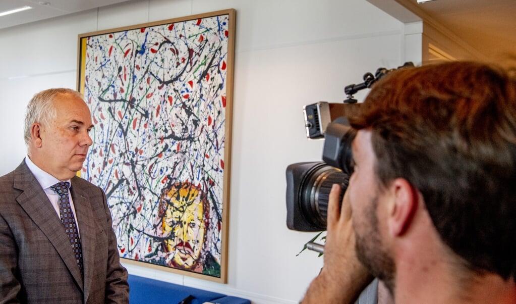 Pieter-Jaap Aalbersberg, Nationaal Coördinator Terrorismebestrijding en Veiligheid, noemde Muslim Rights Watch Nederland in oktober in het Dreigingsbeeld.  (beeld anp / Robin Utrecht)