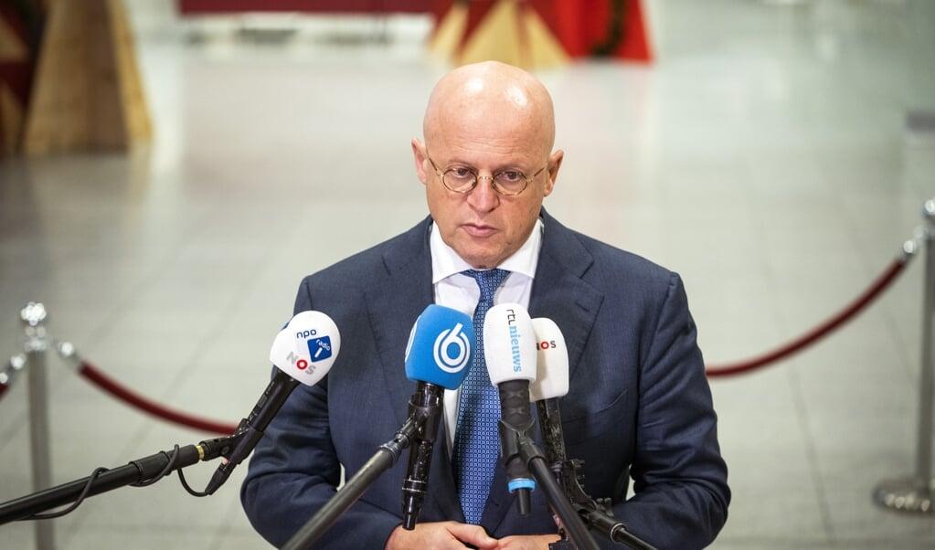 Minister Ferd Grapperhaus.  (beeld anp / Jeroen Jumelet)