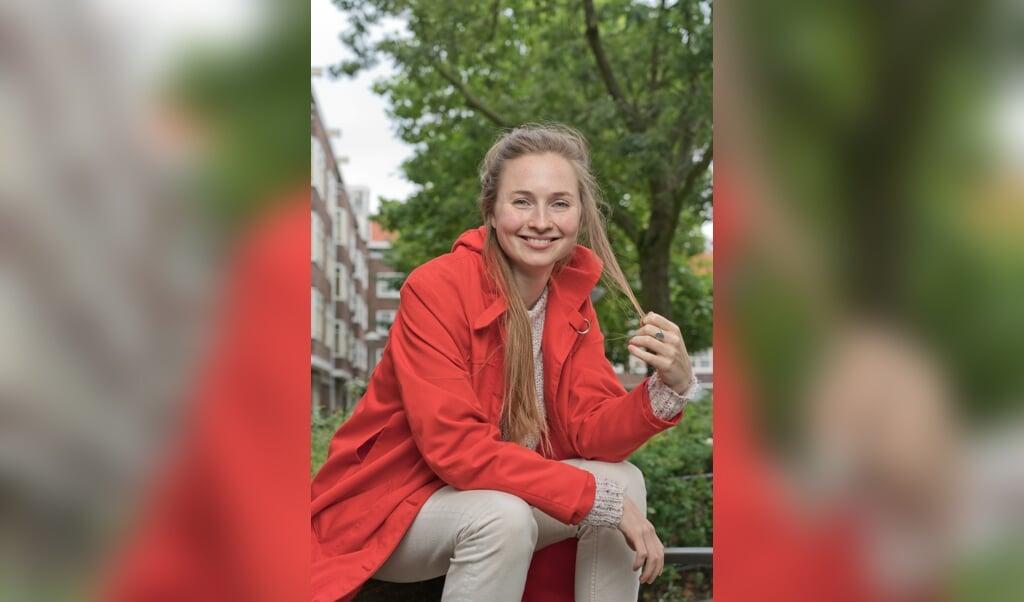 Titia Hoogendoorn: 'Politiek gaat ook over zaken die jongeren aangaan.'  (beeld John Voermans)