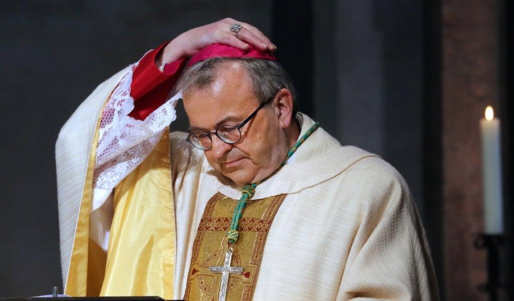 Bisschop Harrie Smeets van Roermond.  (beeld anp / Ramon Mangold)