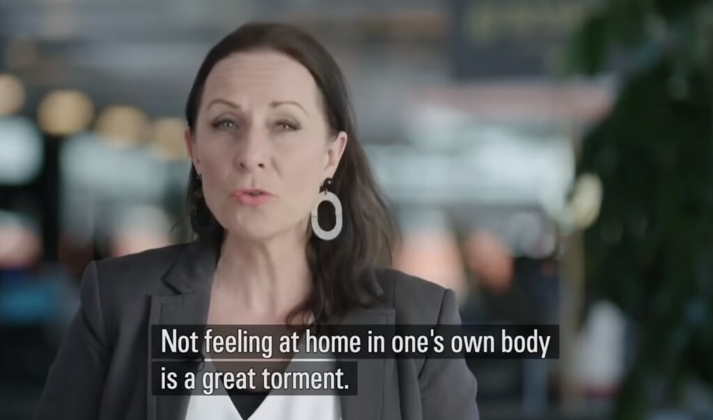 Beelden uit de spraakmakende Zweedse documentaire The Trans Train.  (beeld youtube)