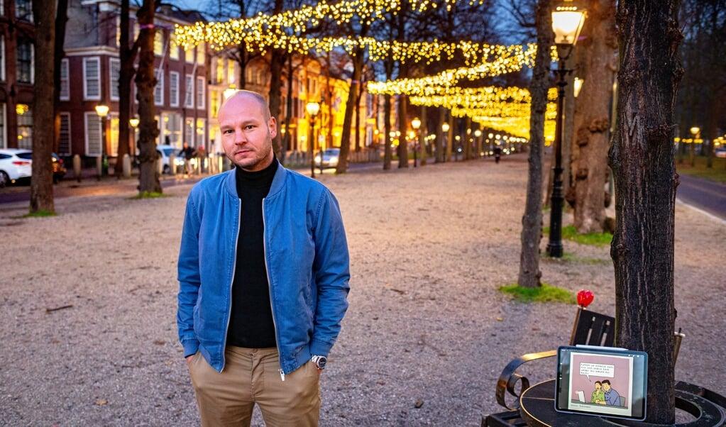 Walter Dijkshoorn: 'Mensen geloven soms omdat ze nu eenmaal geloven. Ik hoop dat mijn werk zorgt voor zelfreflectie en discussie in de kerk.'  (beeld Dirk Hol)