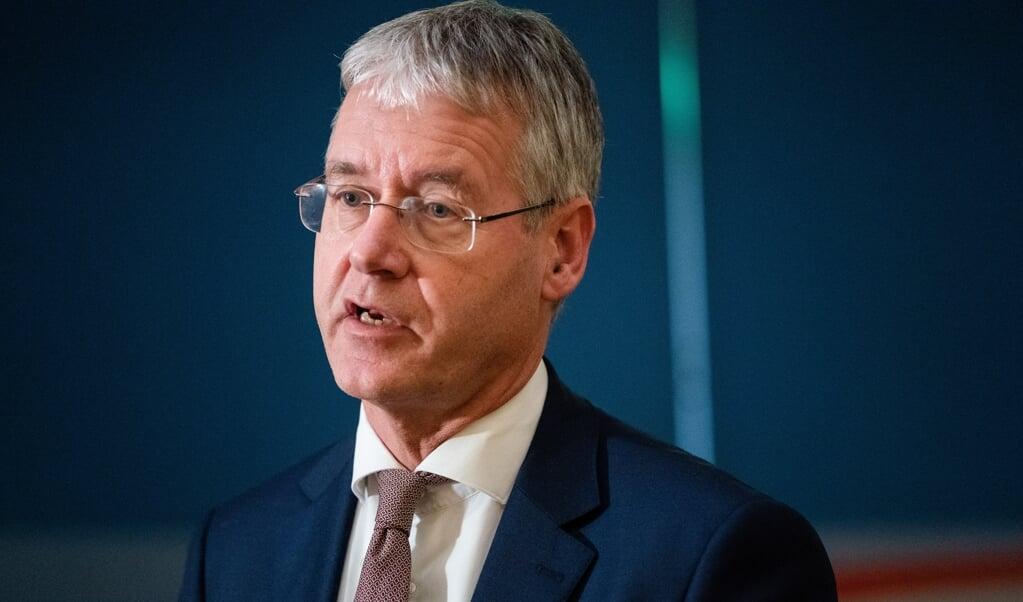 Minister Arie Slob voor Basis- en Voortgezet Onderwijs en Media.  (beeld anp / Bart Maat)