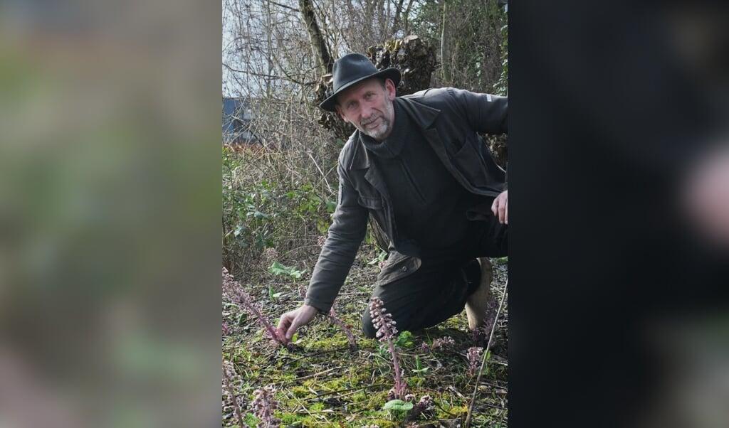 Jan Graafland: 'Ik probeer alles opnieuw te gebruiken.'  (beeld Theo Haerkens)