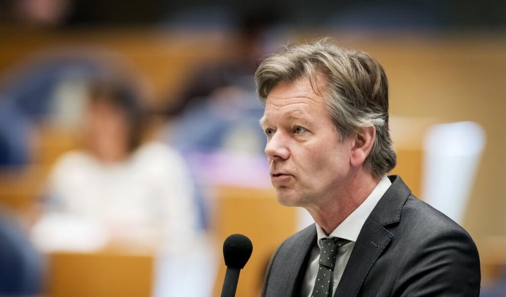 CU-Kamerlid Joël Voordewind.  (beeld anp / Koen van Weel)
