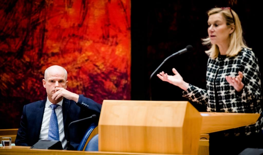 Minister Sigrid Kaag.  (beeld anp / Bart Maat)