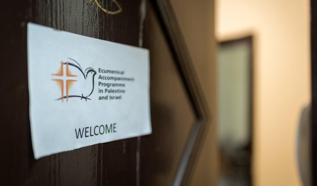 De Wereldraad van Kerken heeft in Israël en Palestina een oecumenisch begeleidingsprogramma (EAPPI).  (beeld Albin Hillert / WCC)