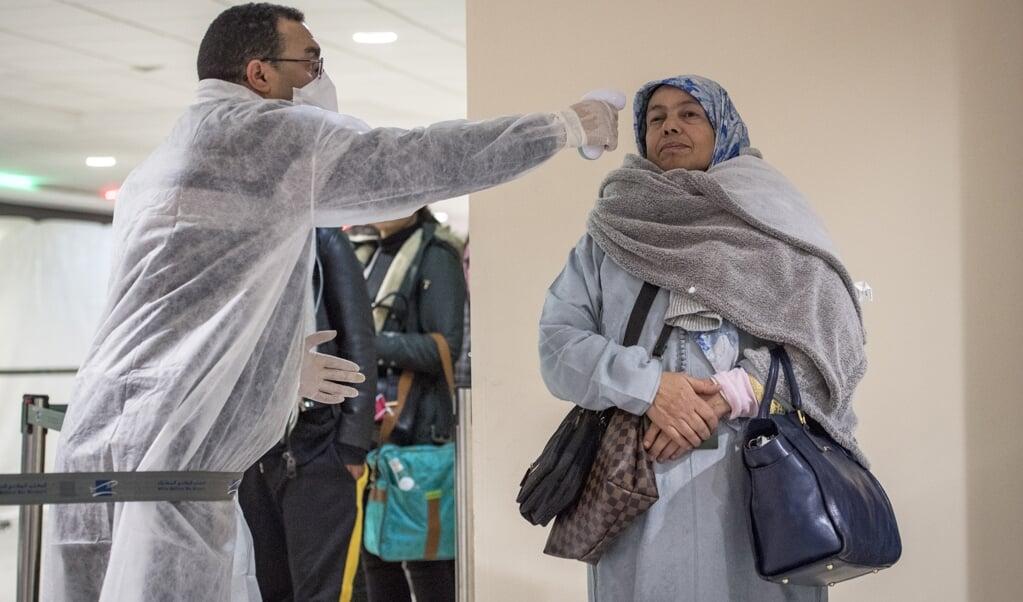 Nederlanders in Marokko zoeken naar alternatieve routes.  (beeld Fadel Senna / afp)