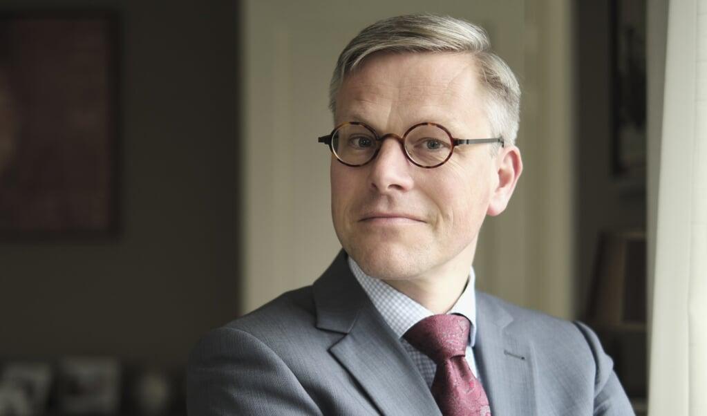 Kampen, 2 maart 2020. Arnold Huijgen is theoloog en hoogleraar systematische theologie aan de Theologische Universiteit Apeldoorn.  (beeld Dick Vos)