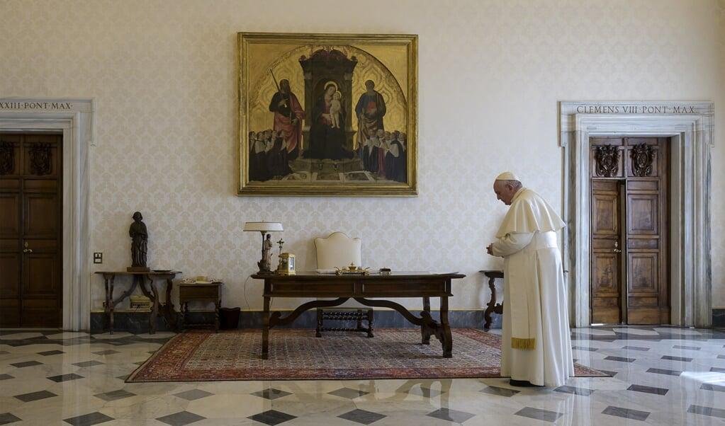 (beeld Vatican Media / AFP)