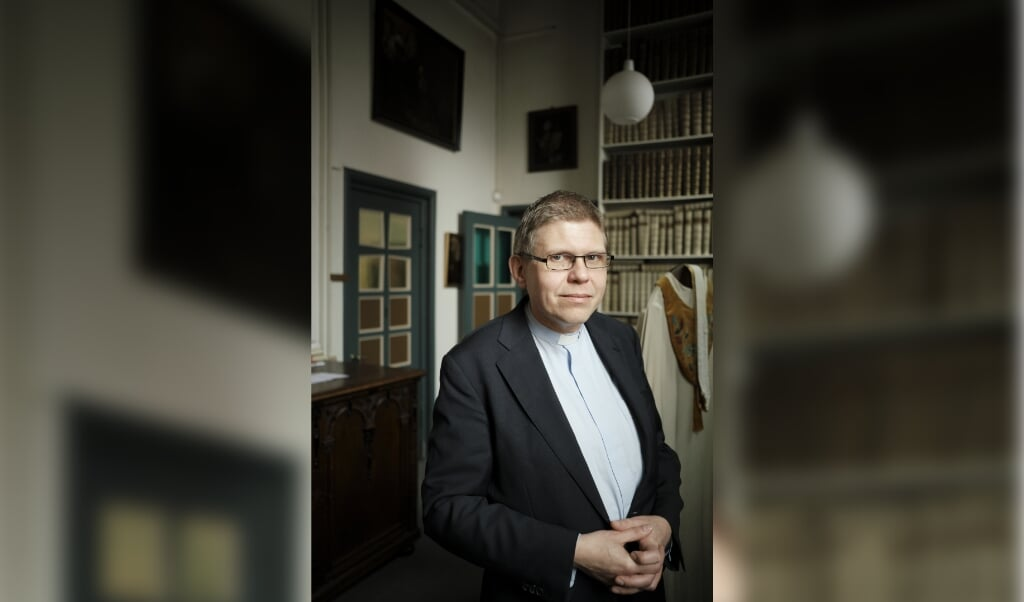 Bernd Wallet is op 15 februari 2020 verkozen tot aartsbisschop van de Oud-Katholieke Kerk in Nederland.  (beeld Dick Vos)