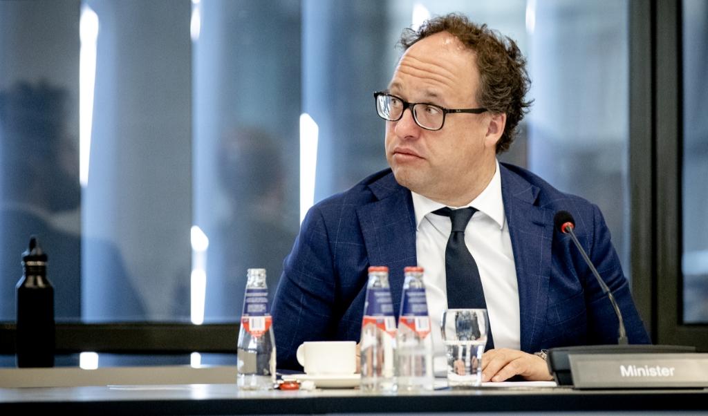 Minister Wouter Koolmees  (beeld anp / Sem van der Wal)