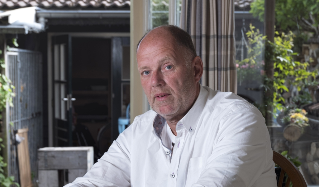 Jaap Willemstein: 'Ik genoot van rellen. Het maakte me niet uit dat ik klappen kreeg'.  (beeld JOOST HOVING)