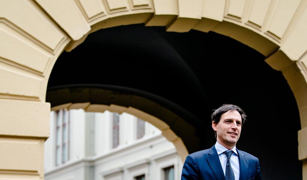 Minister Wopke Hoekstra van Financiën.  (beeld anp / Bart Maat)