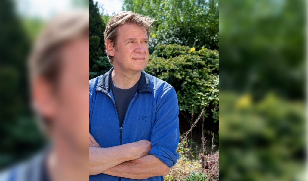 Ivar Schute, archeoloog in Leiden. Zijn boek over opgravingen in vernietigingskampen is net uit.   (beeld Dirk Hol)